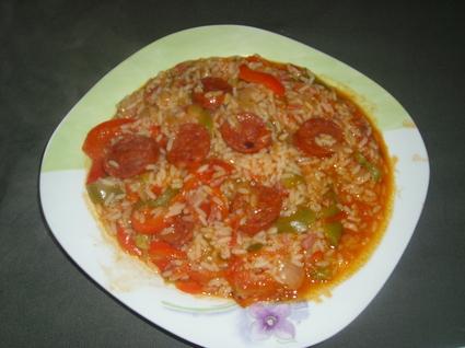 Recette de riz mexicain