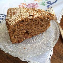 Recette fanouropita : cake grec traditionnel aux noix et aux raisins ...