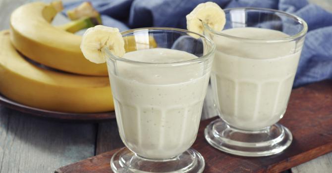 Recette de smoothie au thé vert et à la banane