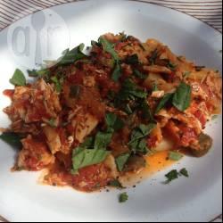 Recette morue à la sauce tomate – toutes les recettes allrecipes