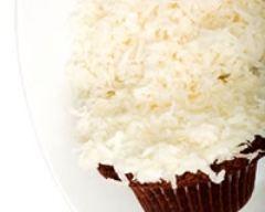 Recette cupcakes au chocolat et à la noix de coco