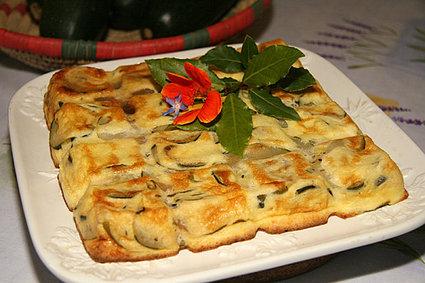 Recette de flan de courgettes au parmesan