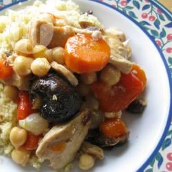 Recette tajine de poulet aux fruits secs et pois chiches – toutes les ...