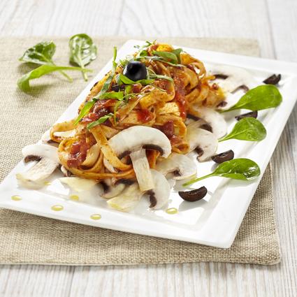 Recette de tagliatelle sauce bolognese champignons et cèpes ...