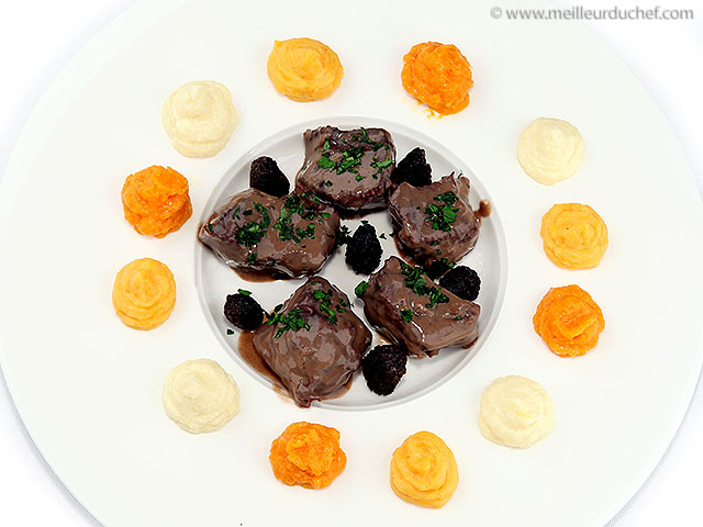 Cerf aux morilles et foie-gras  recette de cuisine avec photos ...