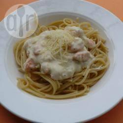 Recette spaghetti crémeux au saumon – toutes les recettes allrecipes