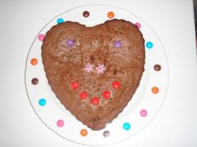 Gâteau d'anniversaire au chocolat pour 8 personnes