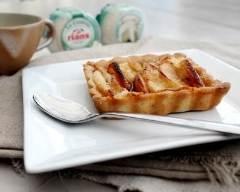Recette tartelettes de crottin de chèvre rians aux pommes ...
