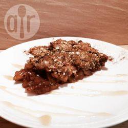 Recette crumble pommes et prunes – toutes les recettes allrecipes