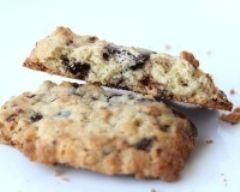 Recette cookies chocolat et flocons d'avoine