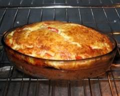 Recette quiche sans croûte aux poivrons et tomates séchées