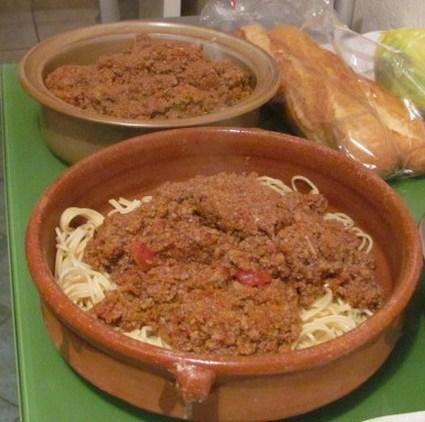 Recette spaghetti bolognaise à ma façon (friandises & biscuits)