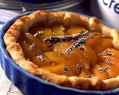 Recette tarte feuilletée aux abricots et à la lavande