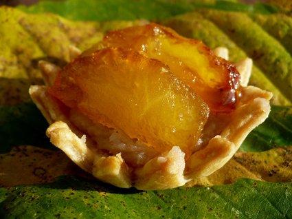 Recette de tartelettes à la confiture de châtaignes et aux pommes ...