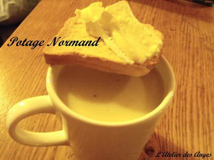 Recette de potage normand