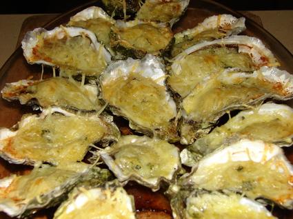 Recette de huîtres farcies