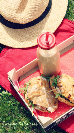 Recette de sandwiches tomates séchées, roquette, parmesan
