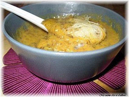 Recette de potage de potiron et patates douces