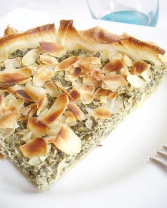 Recette de tarte croustillante oseille-ricotta