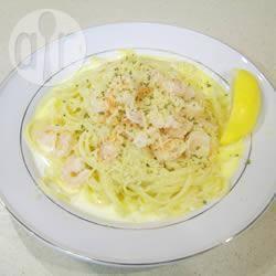 Recette linguini aux crevettes et sauce blanche – toutes les ...
