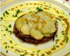 Recette tarte fine aux saint-jacques