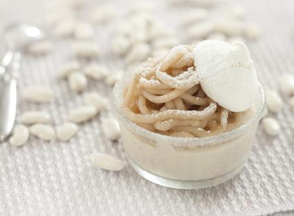 Recette de monts blancs très enneigé de haricots tarbais