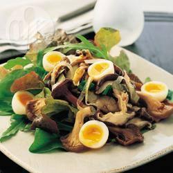 Recette champignons aux œufs de caille – toutes les recettes ...