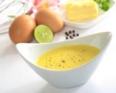 Recette sauce hollandaise au citron vert