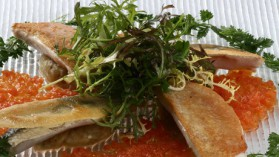 Filets de rougets et sardines poêlés en tartines pour 4 personnes ...