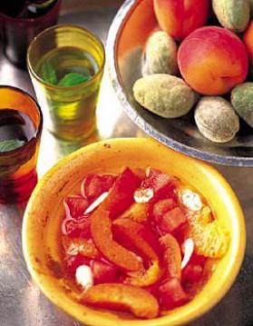 Salade de fruits à la cannelle pour 4 personnes