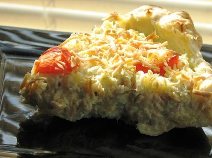 Recette de tarte à la mousse de poisson et pommes de terre