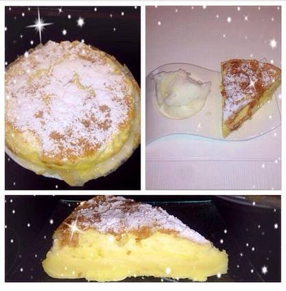 Gâteau magique vanillé
