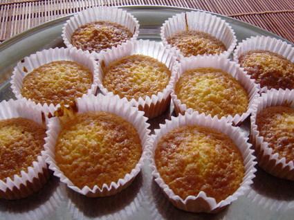 Recette de muffins au miel et noix de muscade