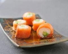 Recette makis de saumon