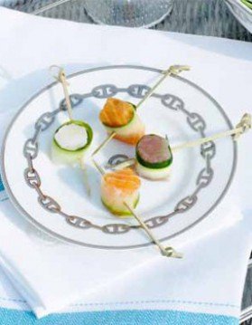 Bouchées de poisson, cru marinade au gingembre pour 6 ...