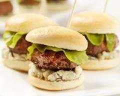 Recette mini hamburgers au bleu