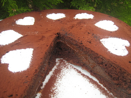 Recette de gâteau chocolat et crème carambars