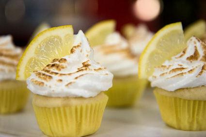 Recette de cupcakes coeur citron meringués