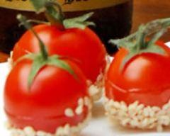 Recette tomate cerise en pomme d'amour