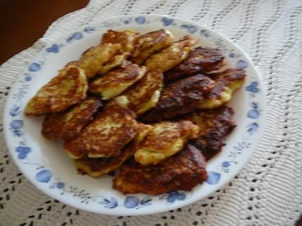Recette de beignets de courgettes au gruyère râpé