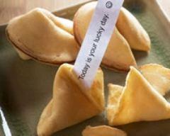 Recette fortune cookies