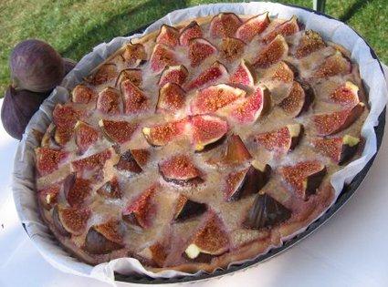 Recette de tarte aux figues et noix