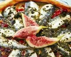 Recette tarte aux sardines et aux figues