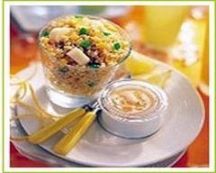 Recette méli-mélo de blé aux zestes de citron