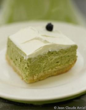 Cheesecake au matcha pour 1 personne