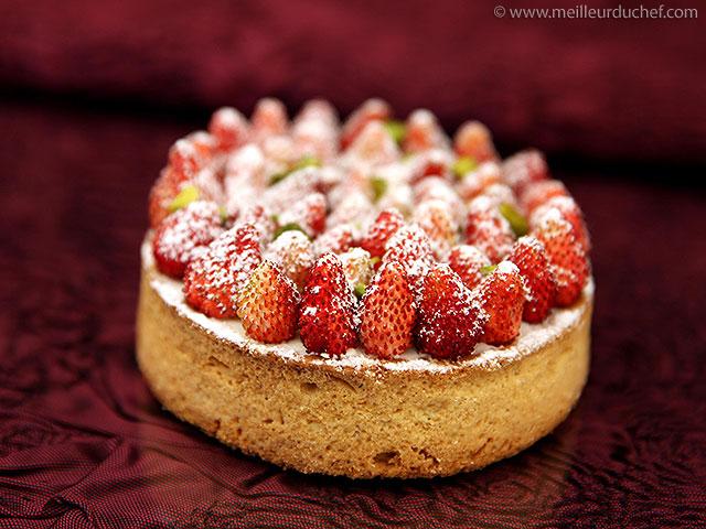 Tartelette aux fraises des bois  la recette avec photos ...