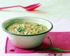 Recette soupe de légumes au pistou