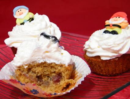 Recette de cupcakes à la pomme et chantilly de cidre