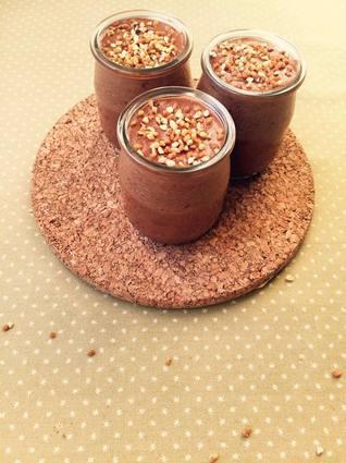 Recette de mousse chocolat pralin