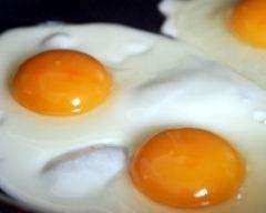 Recette oeufs au plat sans matière grasse